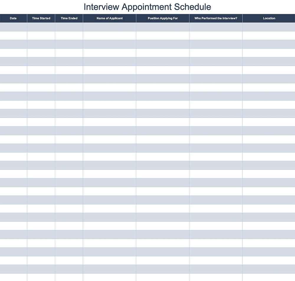 Time Slot Schedule Template from www.allyo.com